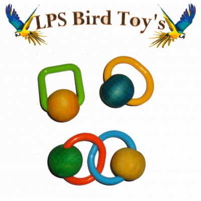 4 SET BALLS FOOT-TOY