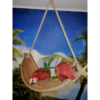 NATURAL SWING LEAF WOOD LARGE