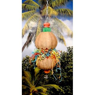 DOUBLE COCO PUMPKIN COLOR FUN TOY
